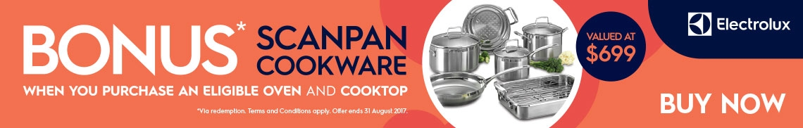 BONUS SCANPAN COOKWARE SET