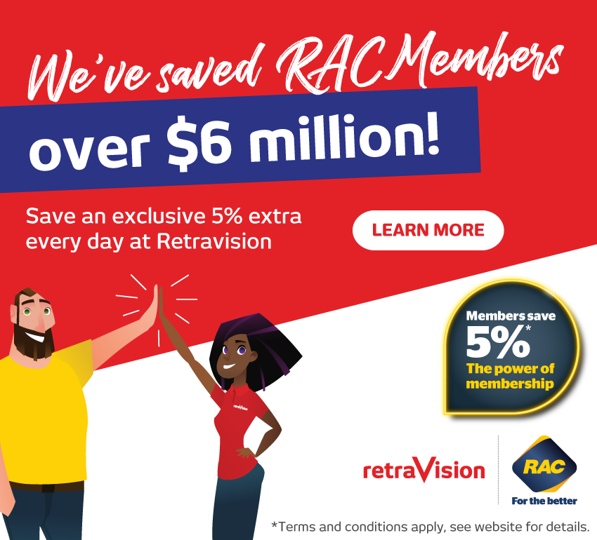 RAC Members Saved $6 Million at Retravision