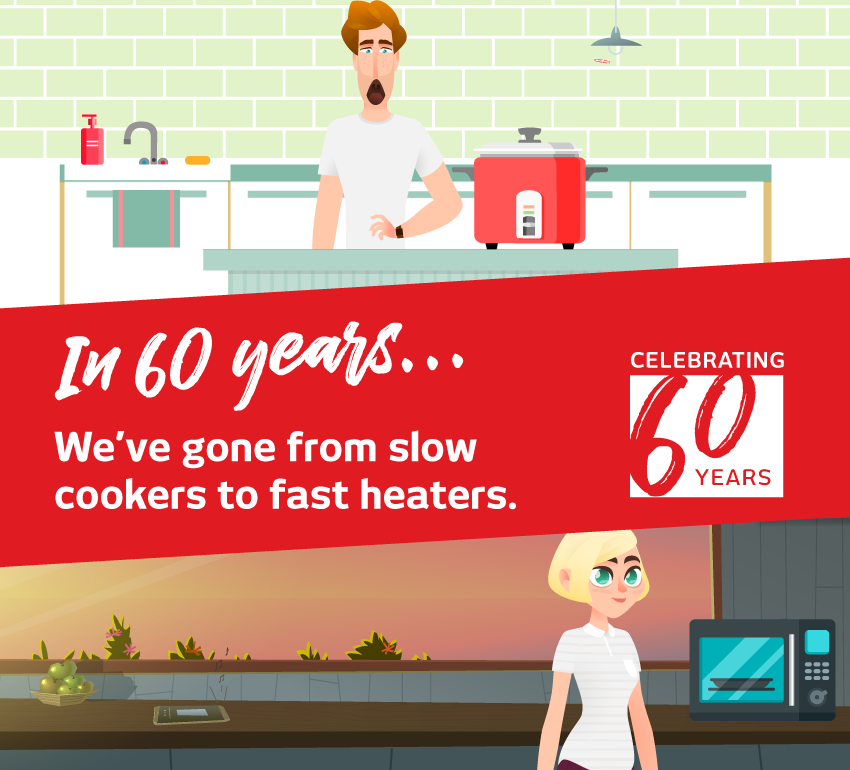 Celebrating 60 Years Cooking