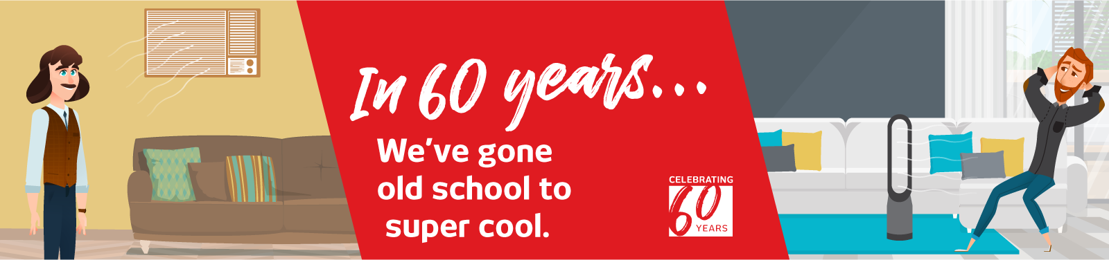 Celebrating 60 Years Cooling And Heating