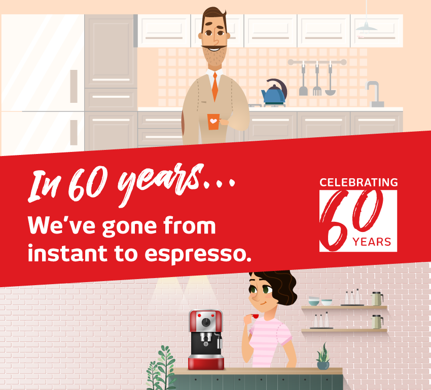 Celebrating 60 Years Kitchen