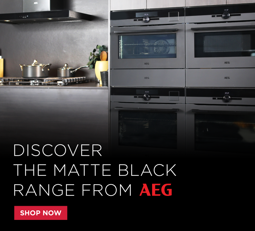 Discover the Matte Black Range from AEG