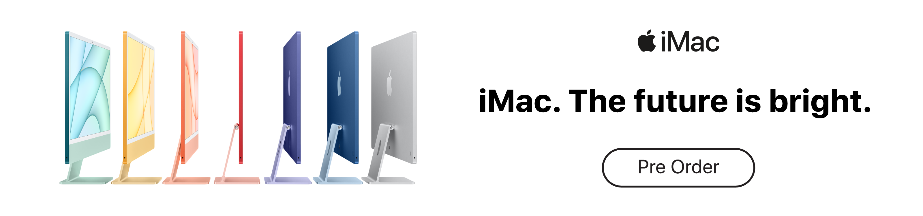 New Apple iMac - Pre Order Now
