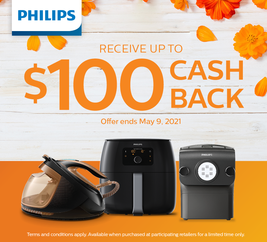 Philips Mother's Day Cash Back Promotion