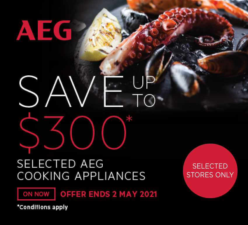 Save Up To $300 On Selected AEG Cooking Appliances