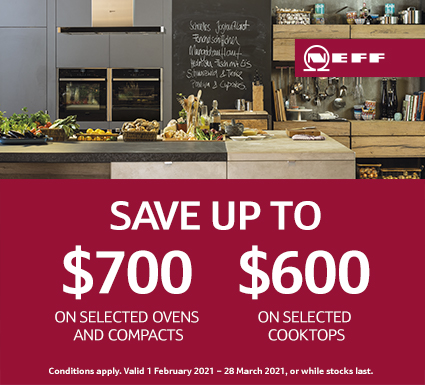Save up to $700 on Neff Cooking Appliances