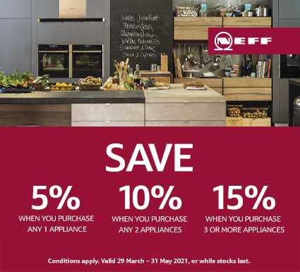 Save Up To 15% on Neff Cooking Appliances