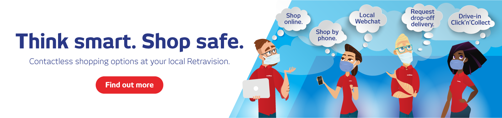 Covid-19 Updates - Shop Safe At Retravision
