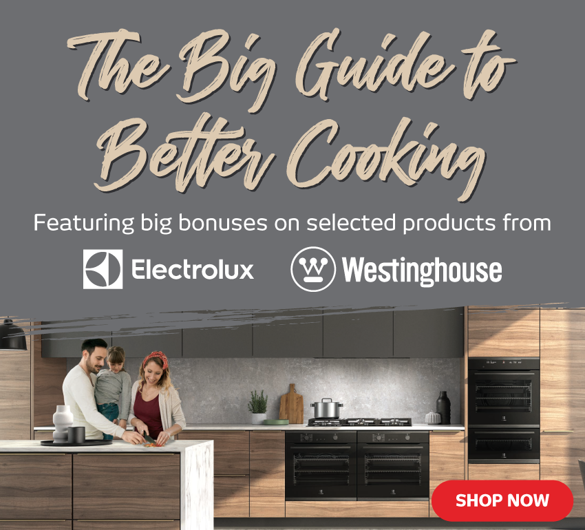 Westinghouse & Electrolux Cooking Guide