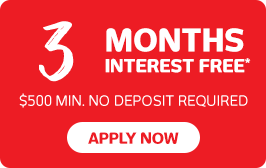 3 months interest free finance