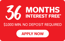 36 months interest free finance