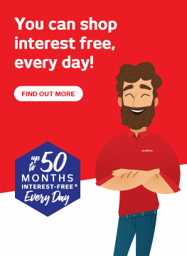 Up to 50 Months Interest-Free*, Every Day - Retravision