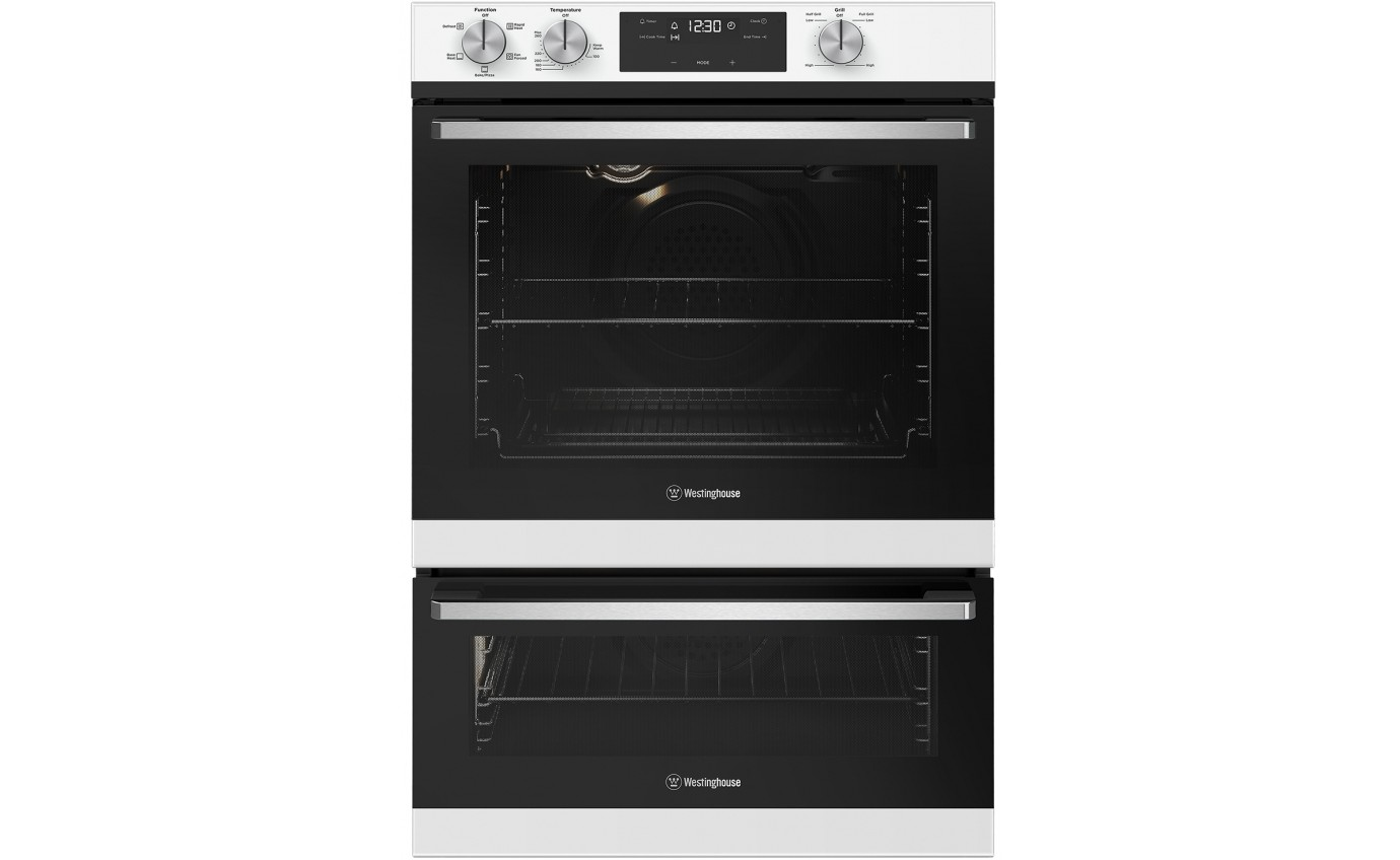 Westinghouse 60cm Separate Grill Wall Oven WVE665WC