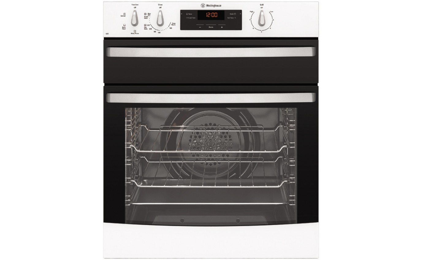 Westinghouse 60cm Natural Gas Only Oven WVG655WNG