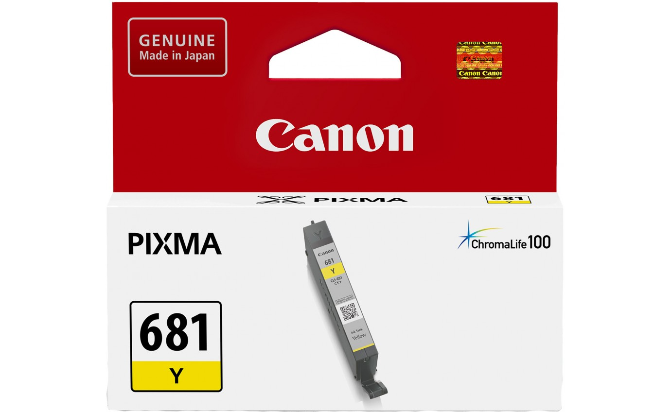 Canon Yellow Ink Cartridge CLI681Y