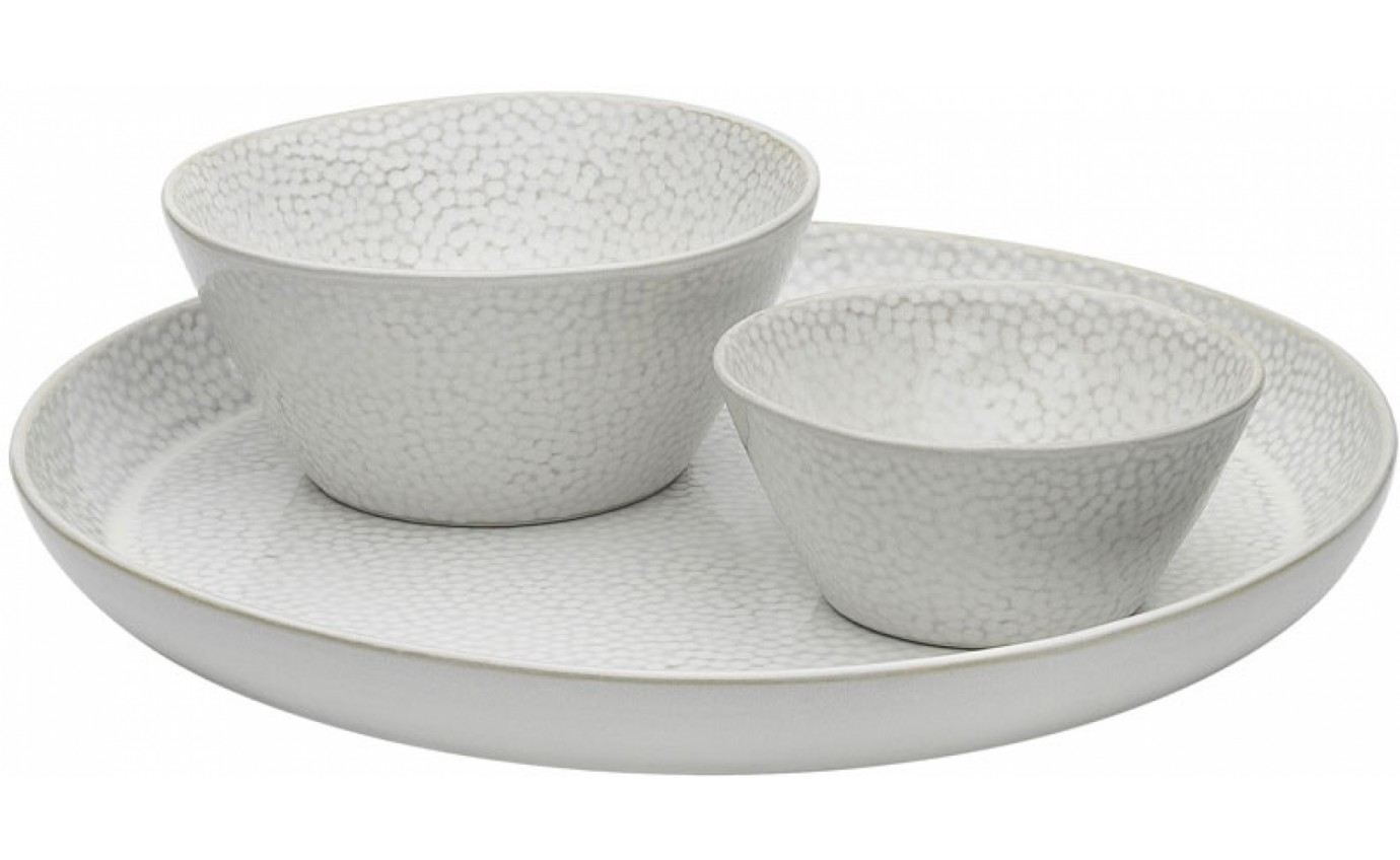 Ecology Dotto 3 Piece Serving Set Soba EC63159