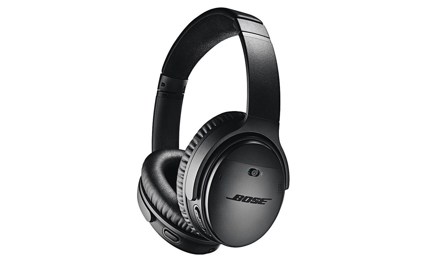 Bose QC35 II Noise Cancelling Wireless Headphones (Black) 7895640010