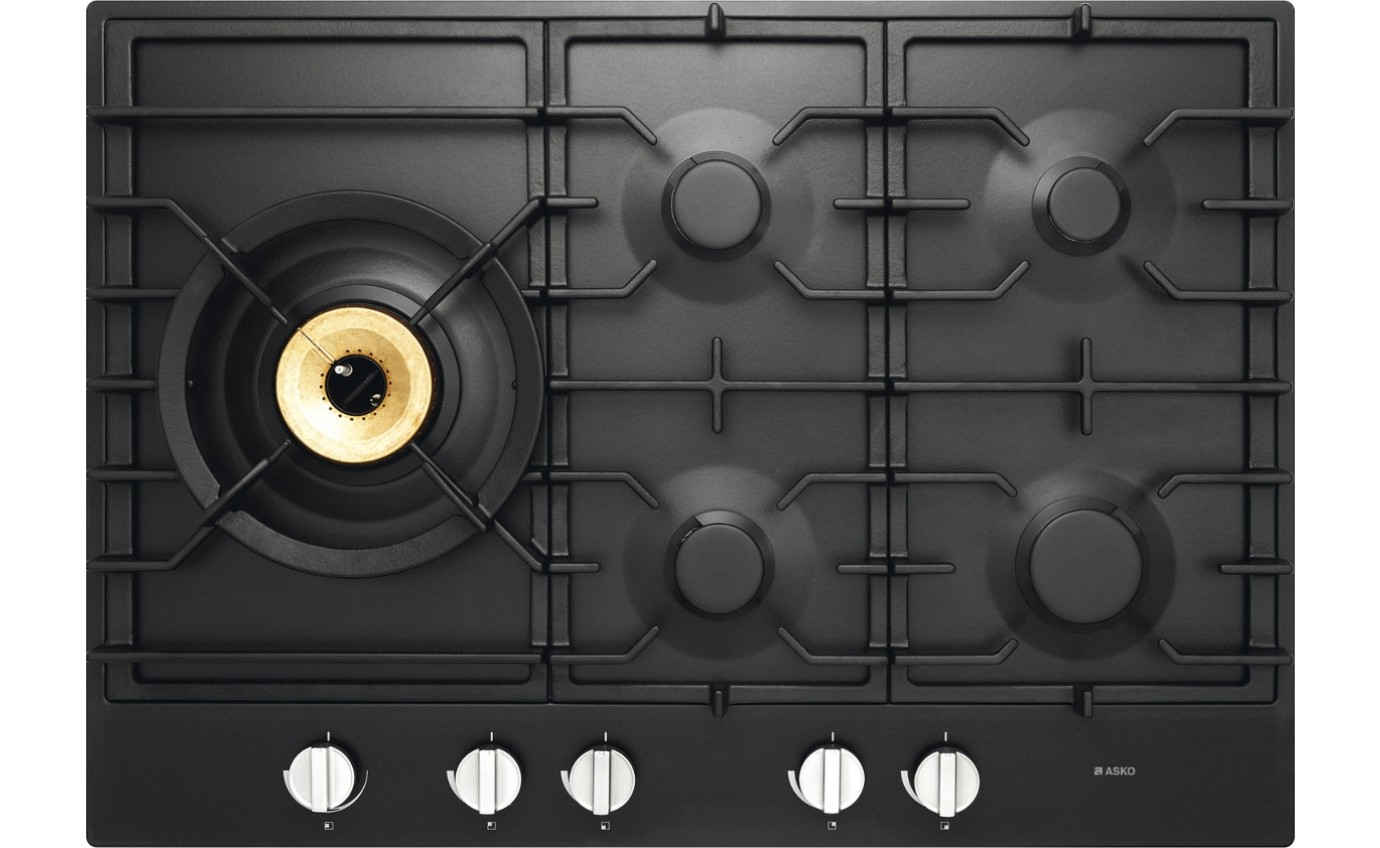 Asko 75cm Gas on Glass Cooktop HG1776AD