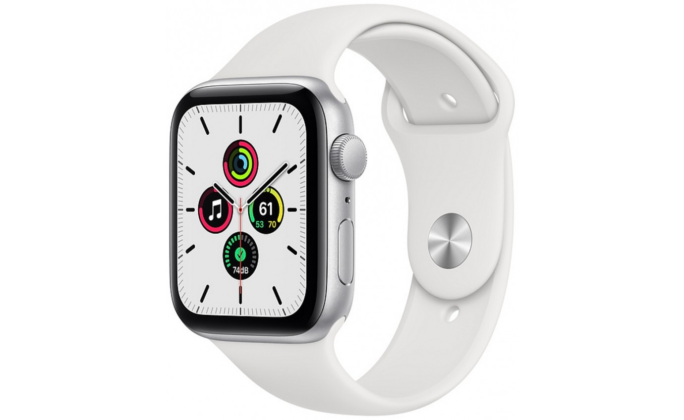 Apple Watch SE - 44mm Silver Aluminium Case GPS MYDQ2XA