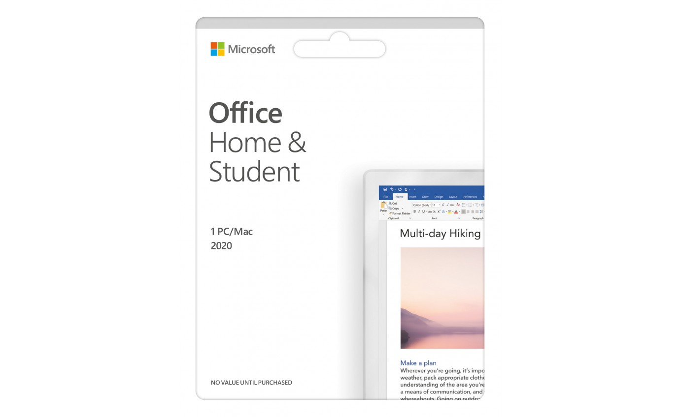 Microsoft Office Home and Student 2019 POSA 9337694069275