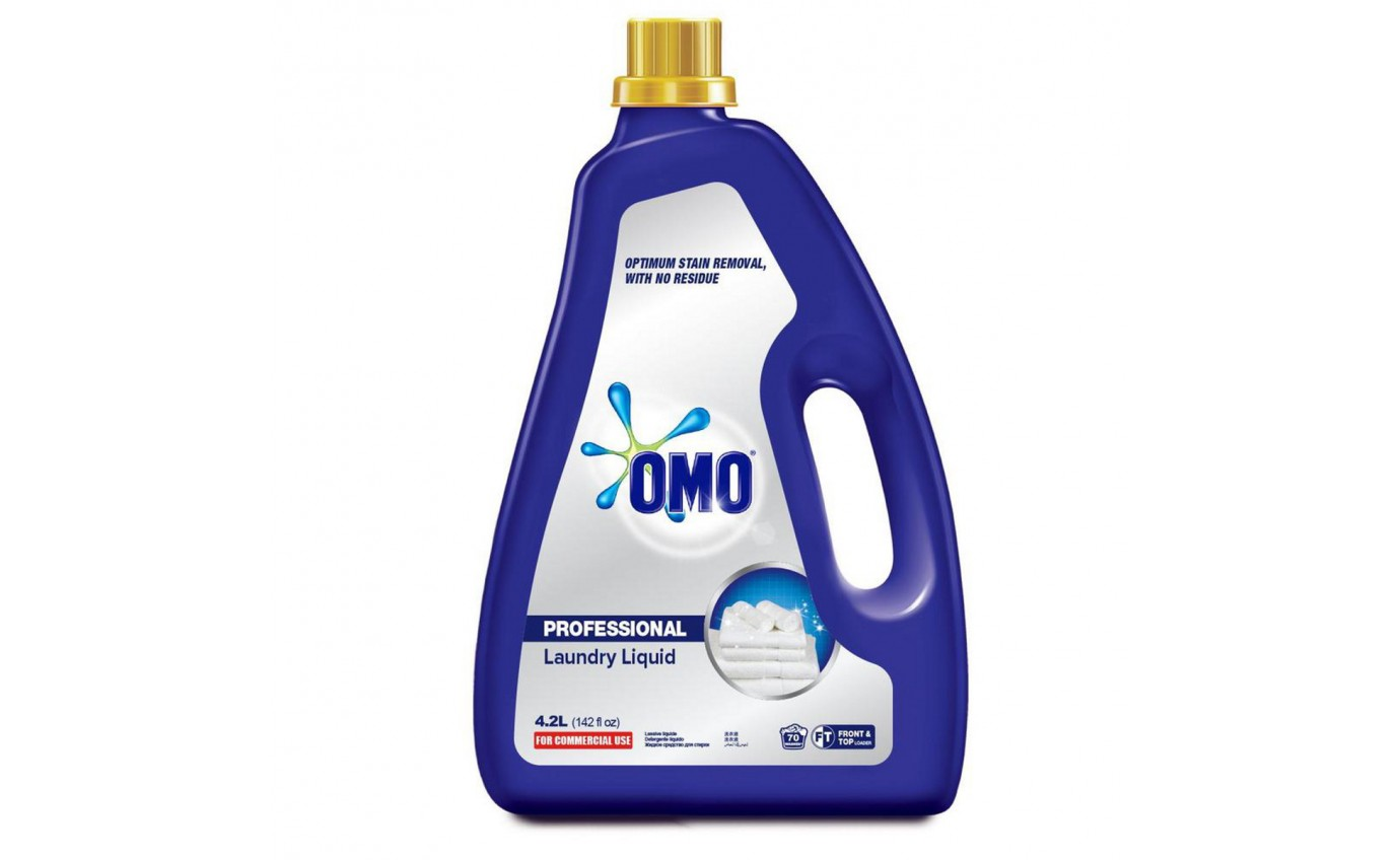 Omo Professional Laundry Liquid (4.2L) 67692436