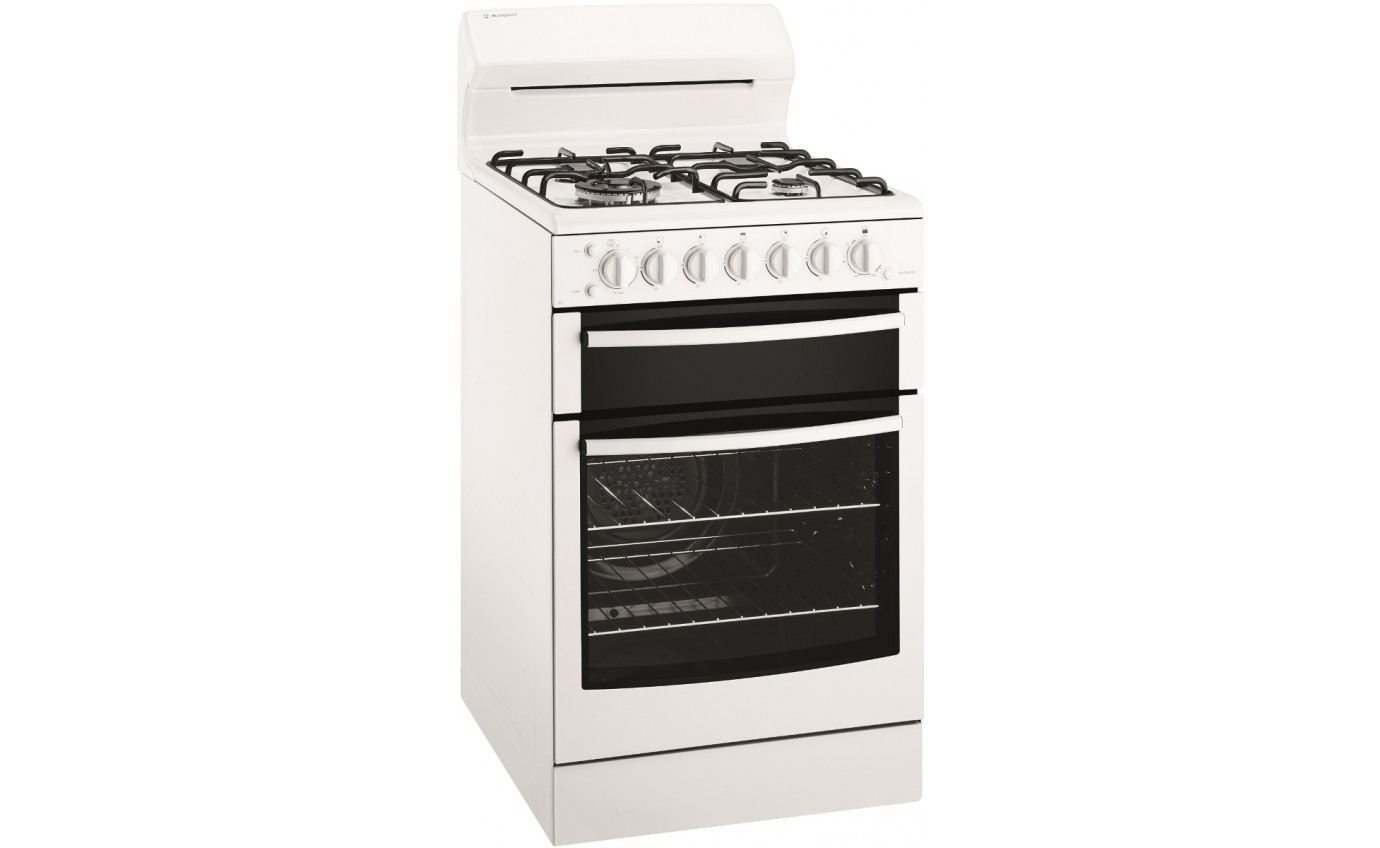Westinghouse 54cm Gas Freestanding Cooker (NG) WLG517WBNG