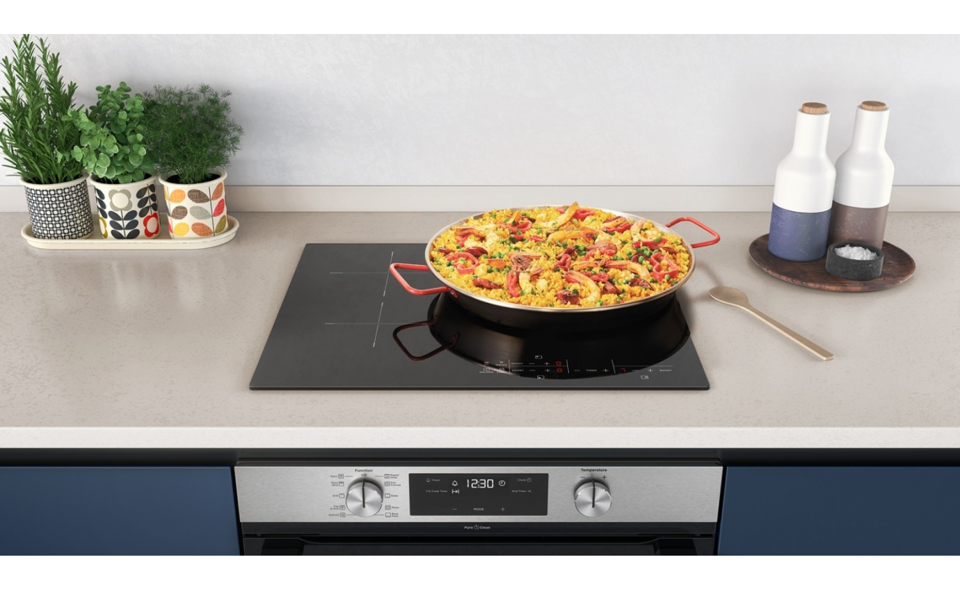 Westinghouse 60cm 3 Zone Induction Cooktop WHI633BC