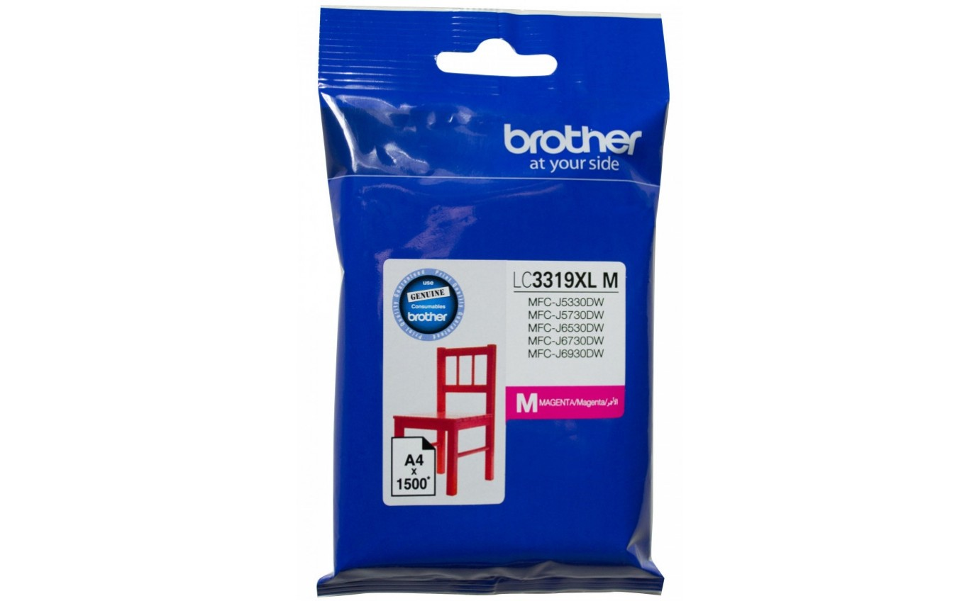 Brother Magenta Ink Cartridge LC3319XLM