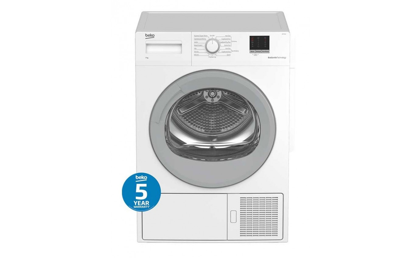 Beko 7kg Heat Pump Clothes Dryer BDP700W