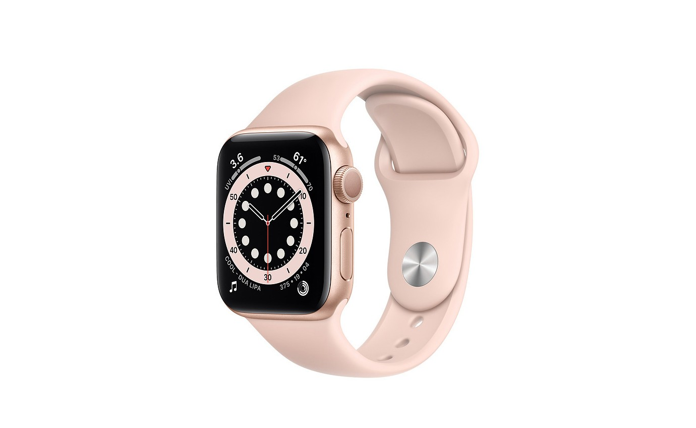 Apple Watch Series 6 - 44mm Gold Aluminium Case GPS M00E3XA