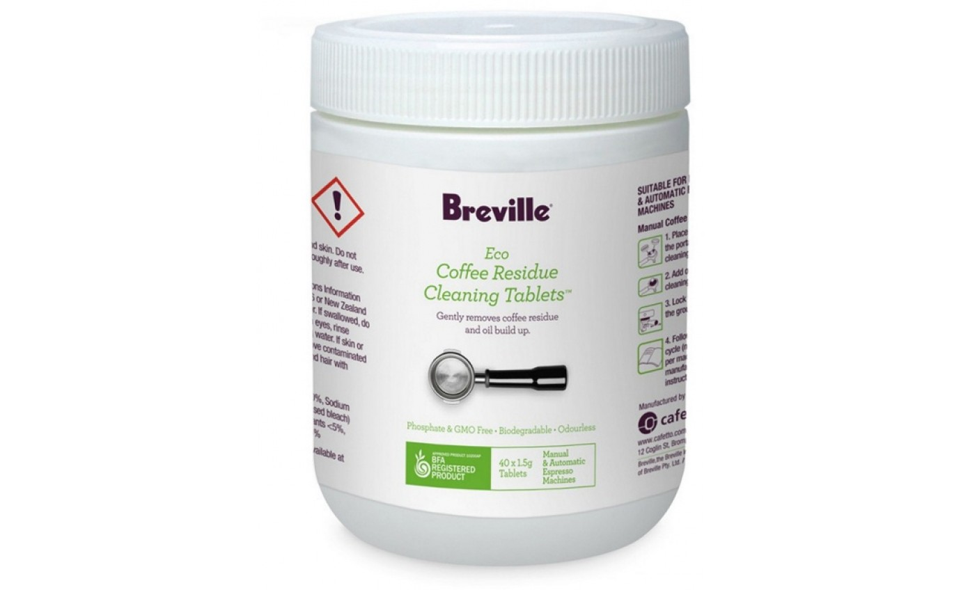 Breville Eco Coffee Residue Cleaner 40Pk BES013CLR