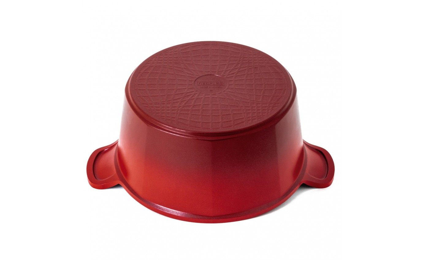 Neoflam Venn 24cm Casserole Induction Red CVC24R