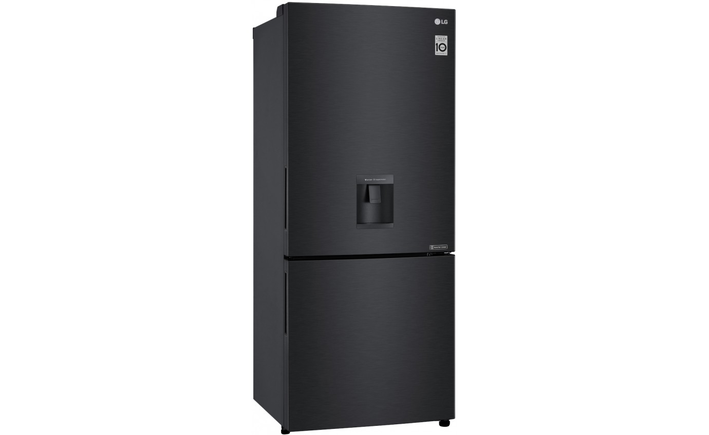 LG 454L Bottom Mount Fridge GBW455MBL