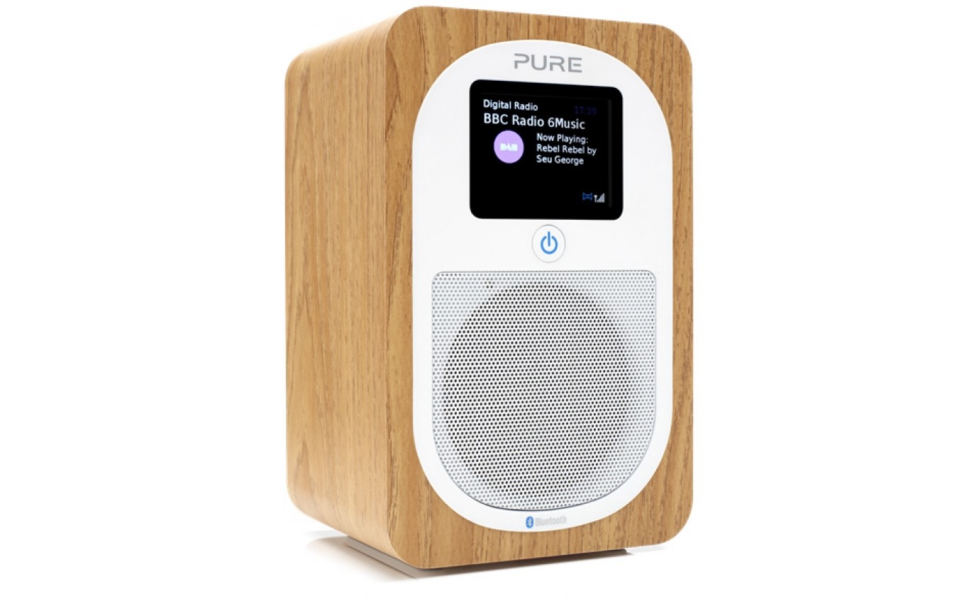 Pure Portable DAB/DAB+ & FM Radio - Oak 151110