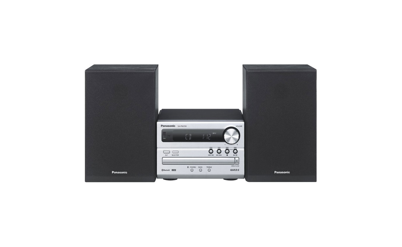 Panasonic CD Micro System SCPM250GNS