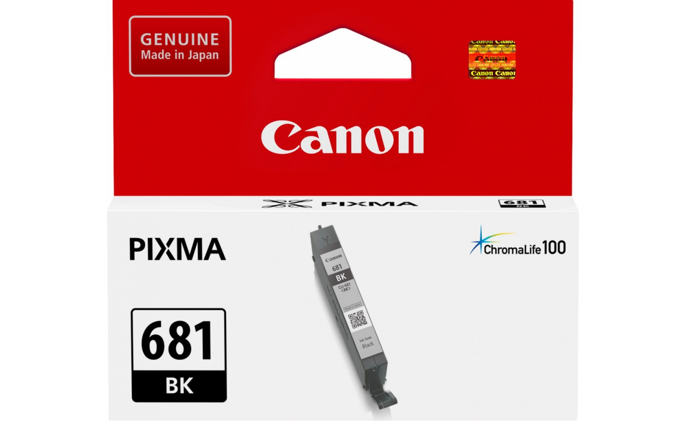 Canon Black Ink Cartridge CLI681BK