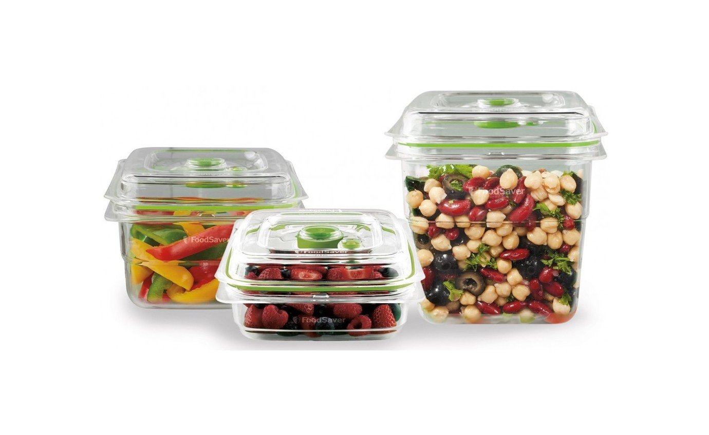 Sunbeam FoodSaver® Fresh Containers 3 Piece Set VS0655