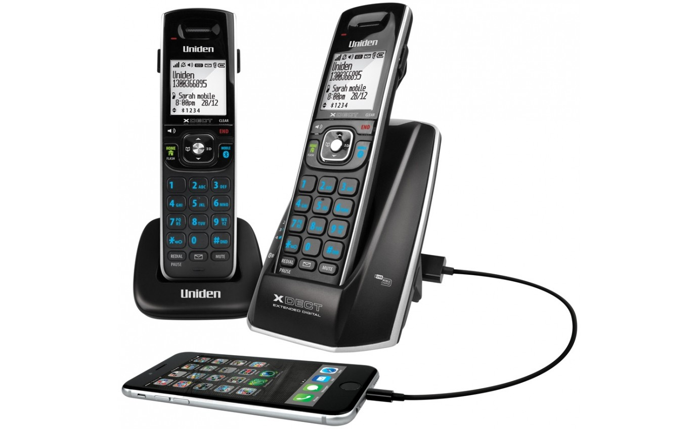 Uniden XDECT Cordless Phone System XDECT83151