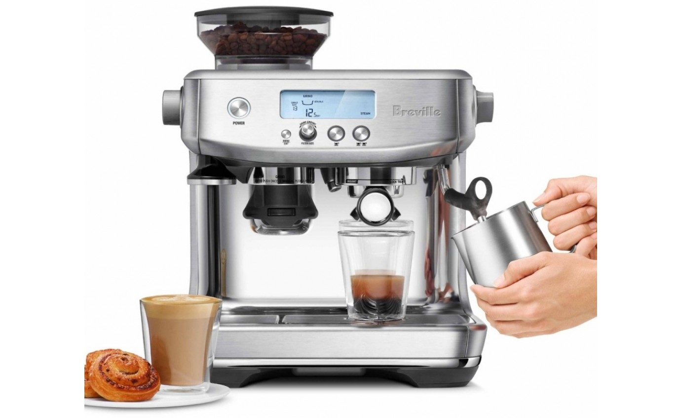 Breville the Barista Pro Coffee Machine BES878BSS