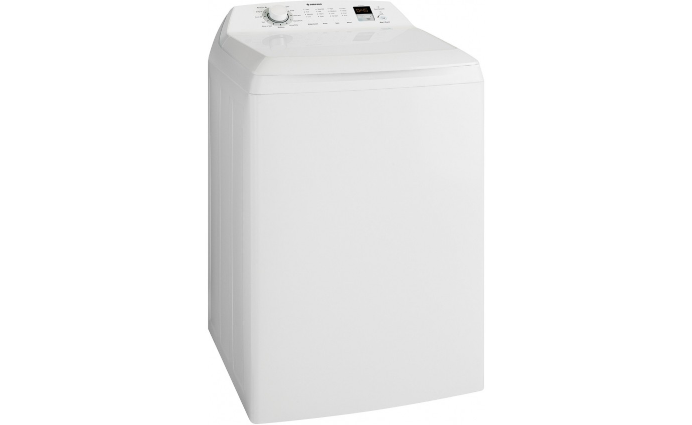Simpson 12kg Top Load Washing Machine SWT1254LCWA