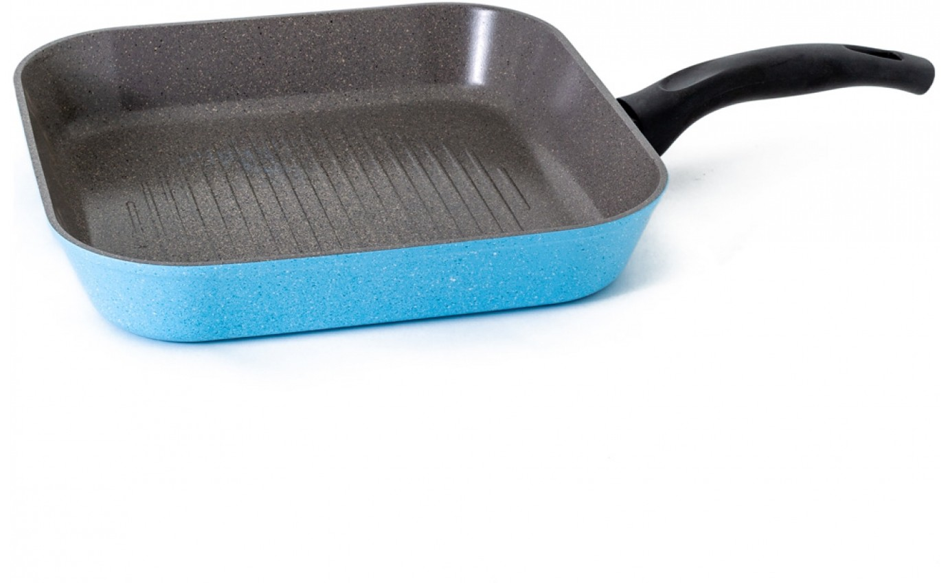 Neoflam Luke Hines 28cm Grill pan Induction Marble Blue ECRMG28I