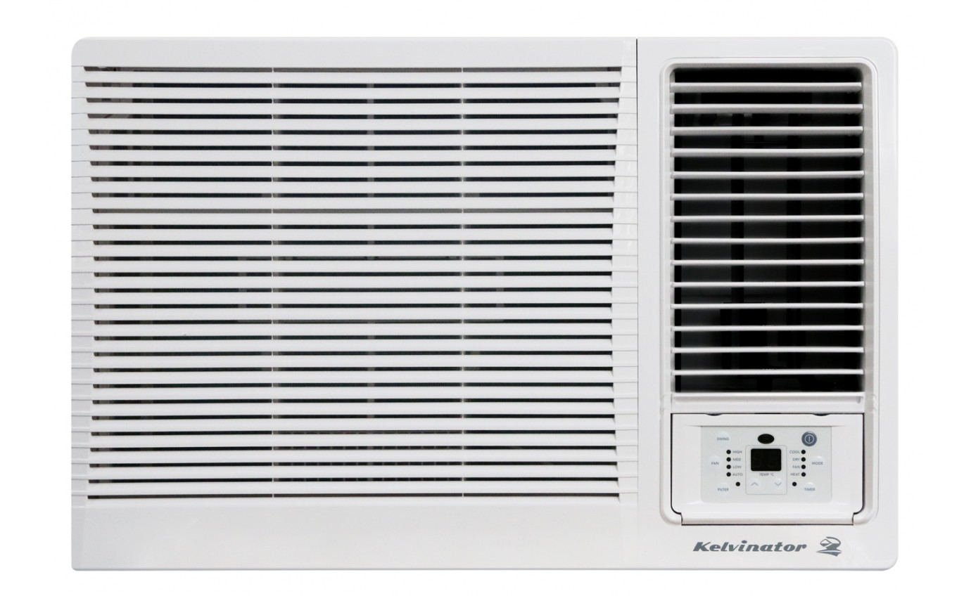 Kelvinator 2.7kW/2.45kW Window/Wall Air Conditioner KWH27HRF