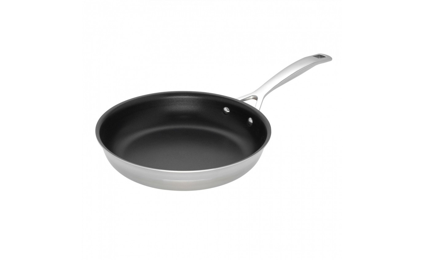 Le Creuset 28cm 3-ply Stainless Steel Non-Stick Frying Pan 96200328001000