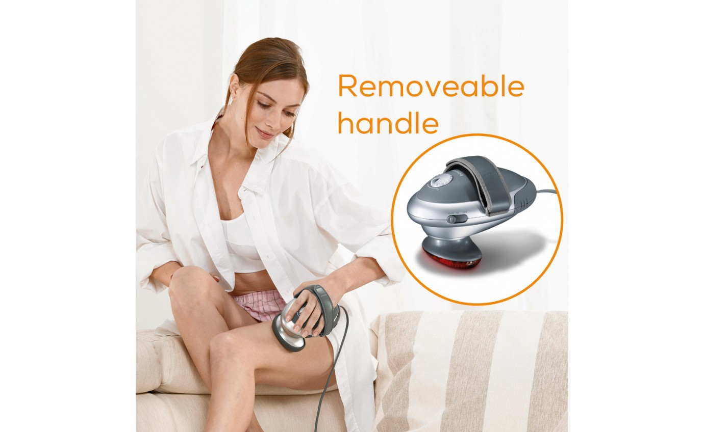 Beurer 2 in 1: Infrared Handheld Body Massager MG70