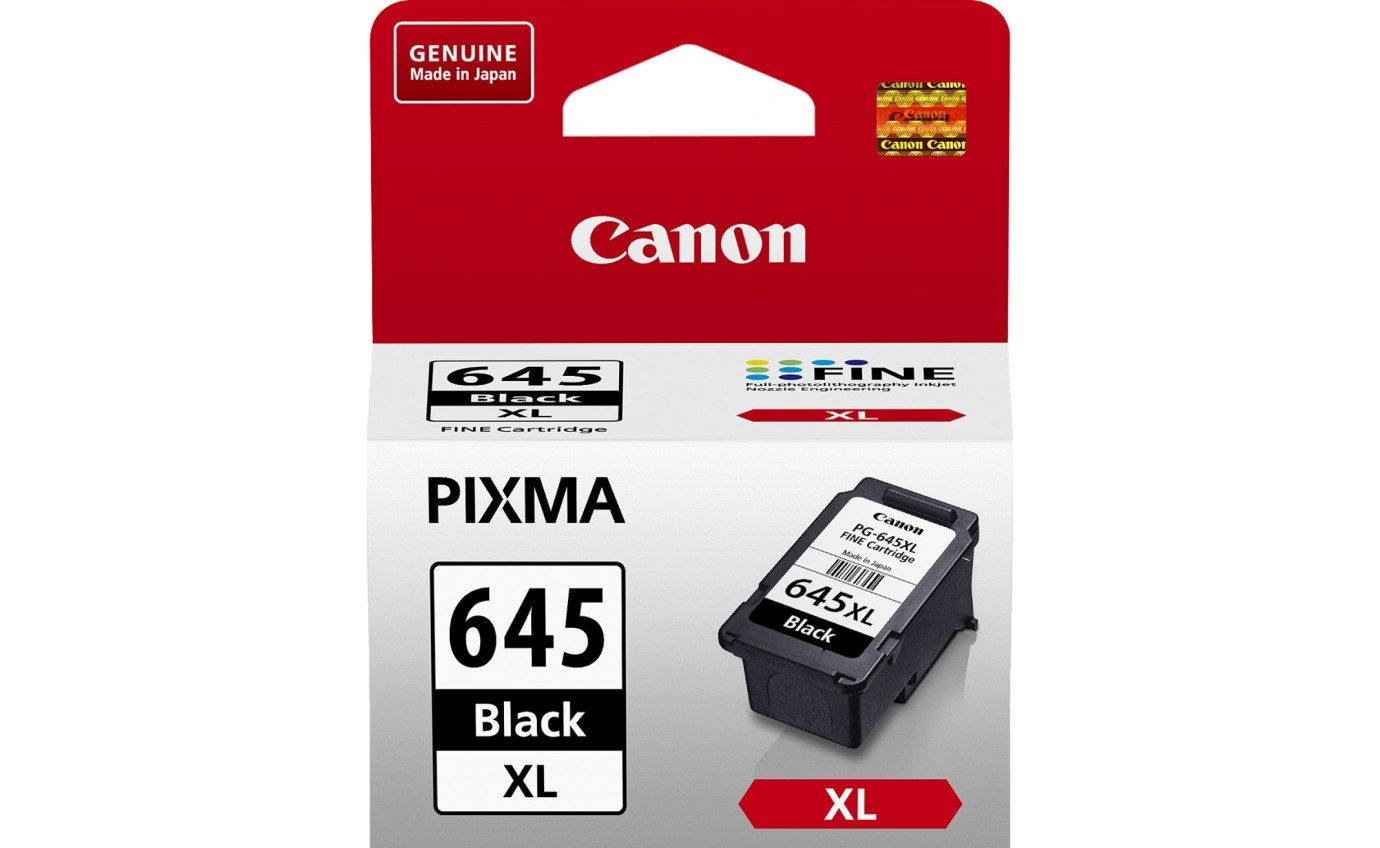 Canon High Yield Black Ink Cartridge PG645XL