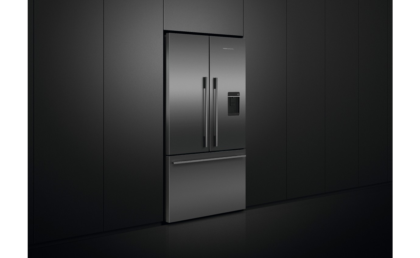 Fisher & Paykel 614L French Door Fridge Black RF610ADUB5