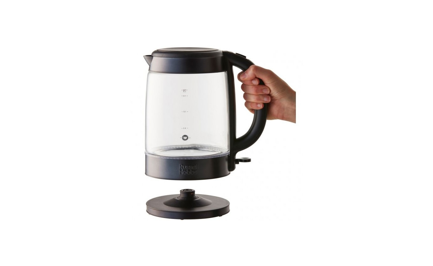 Russell Hobbs Brooklyn Glass Kettle RHK172BCH