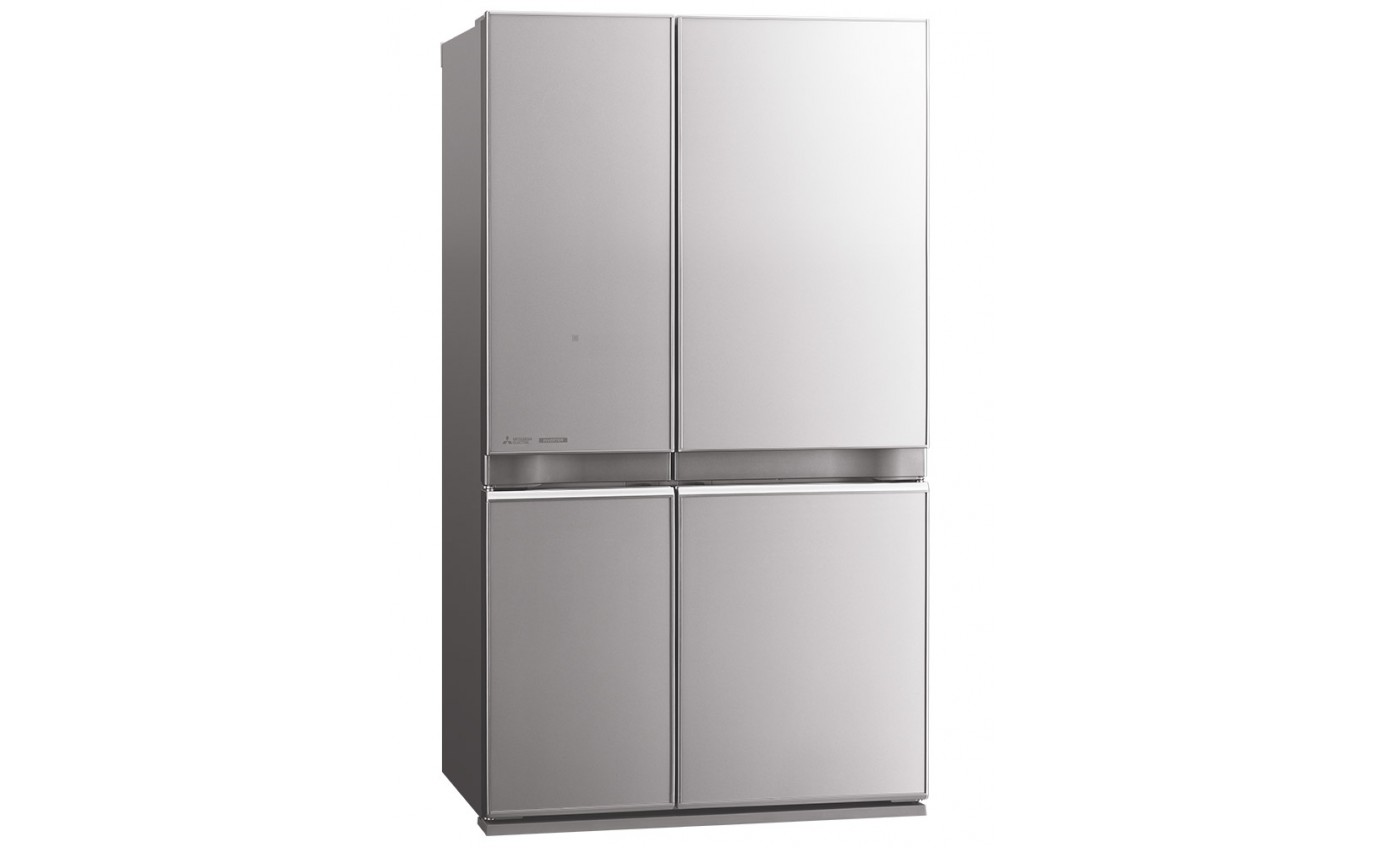 Mitsubishi 710L Glass Grande French Door Fridge MRL710ENGSLA2