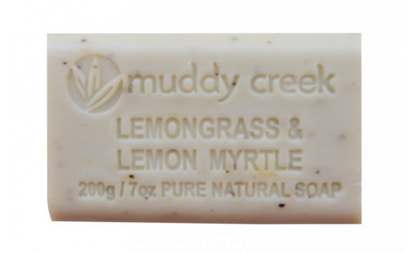 Muddy Creek Lemongrass & Lemon Myrtle Soap LEMONGRASS