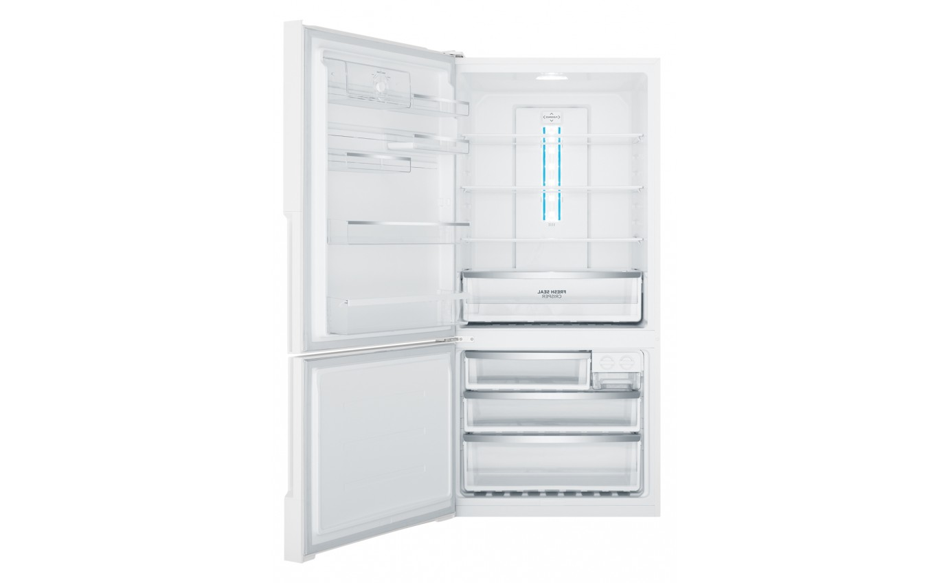 Westinghouse 528L White Bottom Mount Fridge WBE5300WCL